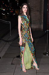 Alexandra Micu arriving at the Fabulous Fund Fair, Camden Roundhouse, London.<br />Photo credit should read: Doug Peters/EMPICS