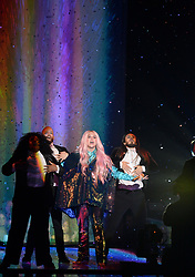 Ke$ha during the MTV Europe Music Awards 2017 held at The SSE Arena, London. Photo credit should read: Doug Peters/EMPICS Entertainment