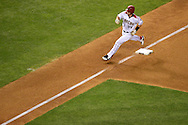 PHOENIX, ARIZONA - APRIL 27:  Paul Goldschmidt #44 of the Arizona Diamondbacks rounds third base after hitting a solo home run during the fourth inning against the St. Louis Cardinals at Chase Field on April 27, 2016 in Phoenix, Arizona.  (Photo by Jennifer Stewart/Getty Images)