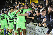 during the Vanarama National League match between Bromley FC and Forest Green Rovers at Hayes Lane, Bromley, United Kingdom on 7 January 2017. Photo by Shane Healey.