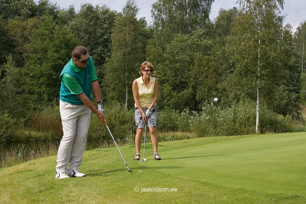 Otepää Golf Course, Valga County, Estonia