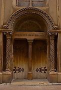 Medieval Doorway, Archway, Nimes, France