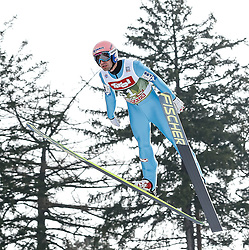 03.01.2015, Bergisel Schanze, Innsbruck, AUT, FIS Ski Sprung Weltcup, 63. Vierschanzentournee, Training, im Bild Andreas Kofler (AUT) // Andreas Kofler of Austria in action during Trial Jump of 63 rd Four Hills Tournament of FIS Ski Jumping World Cup at the Bergisel Schanze, Innsbruck, Austria on 2015/01/03. EXPA Pictures © 2015, PhotoCredit: EXPA/ Peter Rinderer
