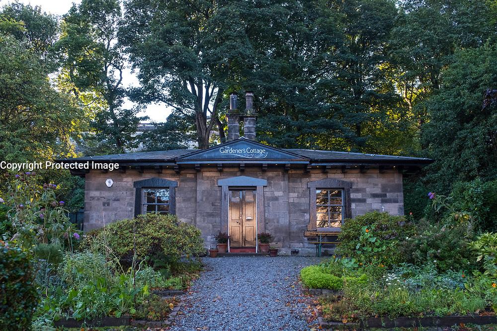 View of Gardener's Cottage restaurant in Edinburgh, Scotland, United Kingdom.