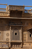 Raj Mahal royal palace of jaisalmer in rajasthan state in india