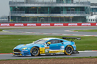Richie Stanaway (NZL) / Fernando Rees (BRA) / Darren Turner (GBR) #97 Aston Martin Racing Aston Martin Vantage, during Free Practice 2  as part of the WEC 6 Hours of Silverstone 2016 at Silverstone, Towcester, Northamptonshire, United Kingdom. April 15 2016. World Copyright Peter Taylor. Copy of publication required for printed pictures.