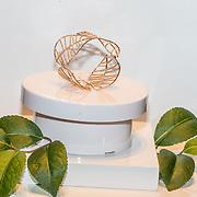 NLD/Waalre/20170130 - Lancering nieuwe juwelenlijn Leaves Dewdrops van Prinses Margarita , gouden Leaves armband