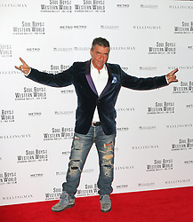 © Licensed to London News Pictures. 30/09/2014, UK. John Keeble, Soul Boys Of The Western World, Spandau Ballet: The Film - European film premiere, Royal Albert Hall, London UK, 30 September 2014. Photo credit : Richard Goldschmidt/Piqtured/LNP