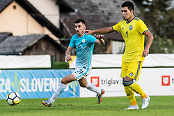 Alen Ozbolt of Slovenia during football match between Slovenia and Kazahstan in Qualifying round for European Under-21 Championship 2019, on September 11, 2018 in Mestni Stadium Ptuj, Slovenija, 2018. Photo Grega Valancic
