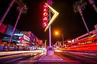 """Vegas"" Neon Sign, Fremont East District"