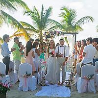 Campaña de Turismo República Dominicana 2017. Matrimonio joven. Tourism Campaign Dominican Republic 2017. Young marriage.