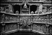 Tusa Hiti, Royal step well, Patan Royal Palace, Lalitpur.