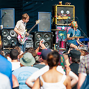 Lightning Bolt, Brian Chippendale, Brian Gibson, Pitchfork Music Festival 2010, Chicago, IL, concert photography by Cleveland music photographer Mara Robinson