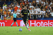 Giorgio Chiellini of Juventus during the UEFA Champions League, Group H football match between Valencia CF and Juventus FC on September 19, 2018 at Mestalla stadium in Valencia, Spain - Photo Manuel Blondeau / AOP Press / ProSportsImages / DPPI