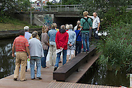Open dag Wetsus op 29 augustus 2015 bij de nieuwe WaterCampus in Leeuwarden.