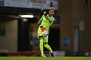 Southend United goalkeeper Ted Smith (22) during the EFL Trophy match between Southend United and U23 Brighton and Hove Albion at Roots Hall, Southend, England on 30 August 2016.