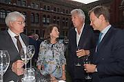 GERT RUDOLPH FLICK; DR. CORINNE FLICK; ; HENRY WYNDHAM, V & A Summer party. South Kensington. London. 22 June 2016