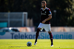 Milan Milanovic of NK Triglav during football match between NK Triglav and NK Domzale in 9th Round of Prva liga Telekom Slovenije 2019/20, on September 15, 2019 in Sport park Kranj, Kranj, Slovenia. Photo by Grega Valancic / Sportida