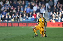 Anthony Knockaert of Brighton and Hove Albion - Mandatory by-line: Arron Gent/JMP - 17/03/2019 - FOOTBALL - The Den - London, England - Millwall v Brighton and Hove Albion - Emirates FA Cup Quarter Final