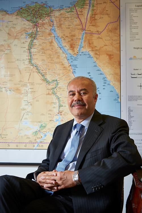 Lisboa, 02/08/2016 - O embaixador do Egito em Portugal, Ali Mohyee Eldin ELASHIRY, fala para a sec&ccedil;&atilde;o &quot;Mala Diplom&aacute;tica&quot; da revista &quot;Volta ao Mundo&quot;<br /> (Paulo Alexandrino / Global Imagens)