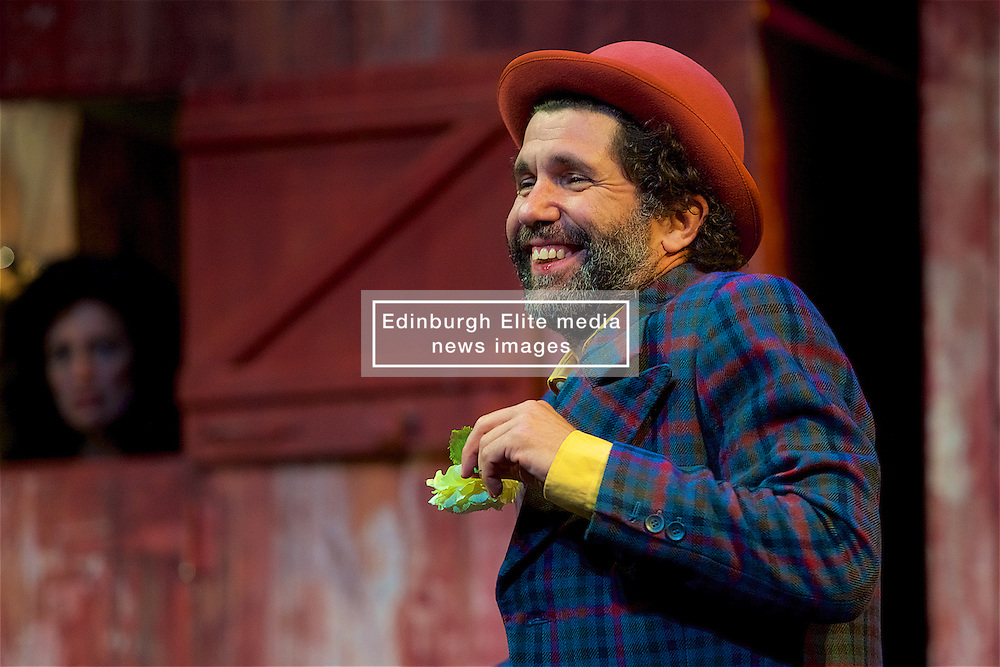 Reimagining Shakespeare's Illyria as a seaside holiday resort from the 1970s, complete with ramshackle beach huts, Shake is a delirious pop-theatre rethink of Twelfth Night from British-born director Dan Jemmett and his French-based theatre company Eat a Crocodile.11th August 2016 (c) Brian Anderson   Edinburgh Elite media