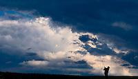 PORTSTEWART - PortStewart Golf Club. clouds, wolken,  Copyright KOEN SUYK