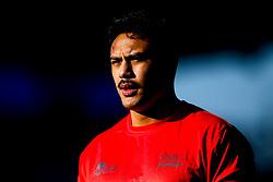 Denny Solomona of Sale Sharks - Mandatory by-line: Robbie Stephenson/JMP - 17/11/2018 - RUGBY - Allianz Park - London, England - Saracens v Sale Sharks - Gallagher Premiership Rugby