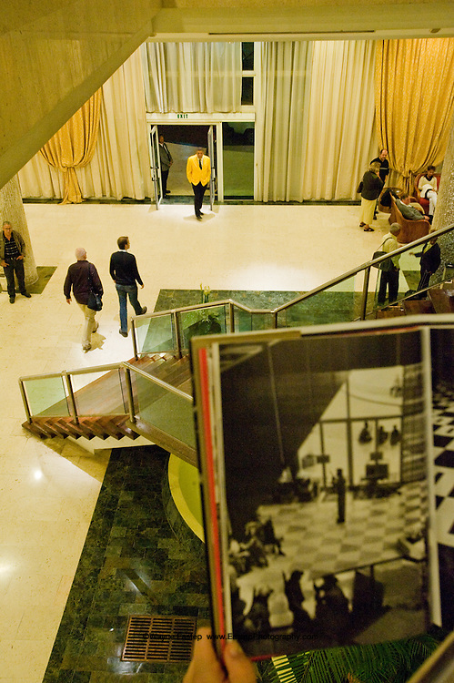 Fifty years ago Magnum Phottographer, Burt Glinn photographed Castro's troops occupying the Havana Hilton.  Today tourists stay at the Habana Libre Tryp. Havana, Cuba