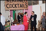 THOMAS KLASSNIK, Matt's Gallery 35th birthday fundraising supper.  42-44 Copperfield Road, London E3 4RR. 12 June 2014.