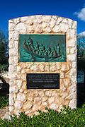WWII memorial in Tkon, Pašman Island, Dalmatian Coast, Croatia