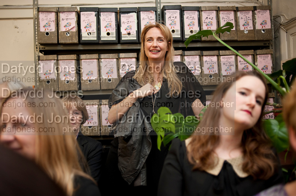 CLEMENTINE FRASER, Rachel's Johnson's 'A Diary of the Lady'book launch at The Lady's offices. Covent Garden. London. 30 September 2010. -DO NOT ARCHIVE-© Copyright Photograph by Dafydd Jones. 248 Clapham Rd. London SW9 0PZ. Tel 0207 820 0771. www.dafjones.com.