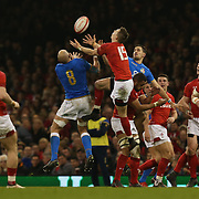 Cardiff 11/03/2018, Principality Stadium<br /> Natwest 6 nations 2018<br /> Galles vs Italia