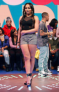 "Paigion appears on BET's ""106th & Park"" at the CBS Television Center in New York City, New York on March 07, 2013."
