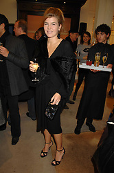 AMBER AIKENS at a party to celebrate the launch of the book 'Long Way Down' by Ewan McGregor and Charley Boorman held at Smythson, 40 New Bond Street, London W1 on 19th November 2007,<br />