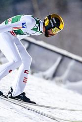 February 8, 2019 - Lahti, Finland - Manuel Fettner competes during FIS Ski Jumping World Cup Large Hill Individual Qualification at Lahti Ski Games in Lahti, Finland on 8 February 2019. (Credit Image: © Antti Yrjonen/NurPhoto via ZUMA Press)