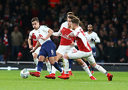 December 19, 2018 - London, England, United Kingdom - London, UK, 19 December, 2018.Tottenham Hotspur's Harry Winks.during Carabao Cup Quarter - Final between Arsenal and Tottenham Hotspur  at Emirates stadium , London, England on 19 Dec 2018. (Credit Image: © Action Foto Sport/NurPhoto via ZUMA Press)