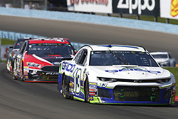 August 5, 2018 - Watkins Glen, New York, United States of America - Ty Dillon (13) brings his car through the turns during the Go Bowling at The Glen at Watkins Glen International in Watkins Glen , New York. (Credit Image: © Chris Owens Asp Inc/ASP via ZUMA Wire)