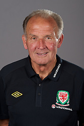 NEWPORT, WALES - Tuesday, August 30, 2011: Wales' assistant kit manager David Williams. (Pic by David Rawcliffe/Propaganda)