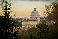 Rome, Italy - December 11, 2014: Sunrise looking out over Rome.4 CREDIT: Chris Carmichael for The New York Times