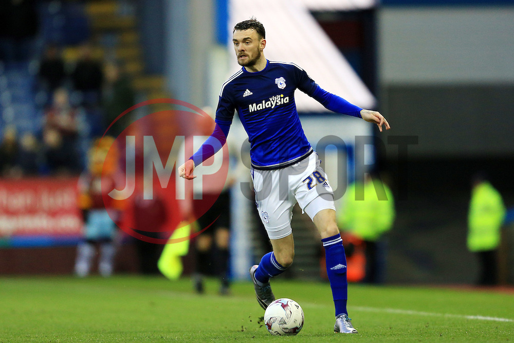 Scott Malone of Cardiff City - Mandatory by-line: Matt McNulty/JMP - 05/04/2016 - FOOTBALL - Turf Moor - Burnley, England - Burnley v Cardiff City - SkyBet Championship