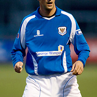 St Johnstone FC....Season 2008-09<br /> Paul Sheerin<br /> Picture by Graeme Hart.<br /> Copyright Perthshire Picture Agency<br /> Tel: 01738 623350  Mobile: 07990 594431