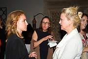 Arwa Damon, Senior International Correspondent, CNN and Founder, INARA, with Board Member, UNICEF