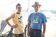 Ian, Greyfox staff stalwart, and Bill, team leader.
