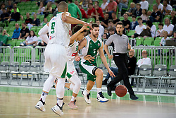 Paolo Marinelli of KK Krka during basketball match between KK Petrol Olimpija and KK Krka in 1st Final game of Liga Nova KBM za prvaka 2017/18, on May 19, 2018 in Arena Stozice, Ljubljana, Slovenia. Photo by Urban Urbanc / Sportida