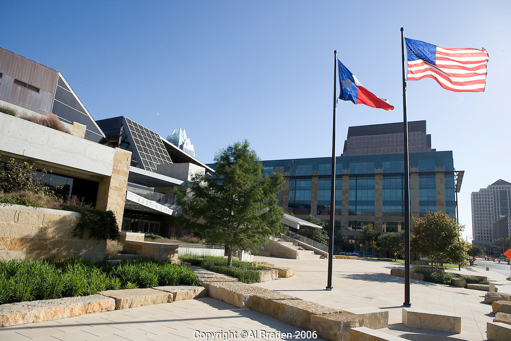 The Austin City Hall was designed by world class architect Antoine Pedrock.