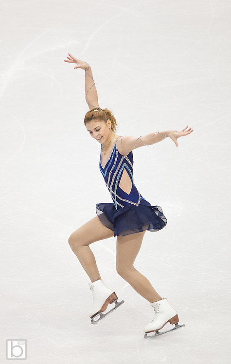Nov 15, 2009: Julia Sebestyen of Hungary skates in the Ladies Free Skate competition at Skate America 2009 at the Herb Brooks Arena in Lake Placid, N.Y. (ORDA Photo /Todd Bissonette)
