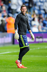 Ben Foster (ENG) of West Brom looks on before the match - Photo mandatory by-line: Rogan Thomson/JMP - 07966 386802 - 12/04/2014 - SPORT - FOOTBALL - The Hawthorns Stadium - West Bromwich Albion v Tottenham Hotspur - Barclays Premier League.