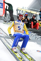 12.02.2013, Vogtland Arena, Kingenthal, GER, FIS Ski Sprung Weltcup, im Bild Pascal KAELIN (SUI) // during the FIS Skijumping Worldcup at the Vogtland Arena, Kingenthal, Germany on 2013/02/12. EXPA Pictures © 2013, PhotoCredit: EXPA/ Eibner/ Bert Harzer..***** ATTENTION - OUT OF GER *****