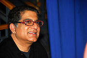 "Indian medical doctor and spirituality author Deepak Chopra discussing his book  ""The Third Jesus: The Christ We Cannot Ignore"" at BookPeople in Austin Texas, March 1 2008."