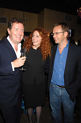 Left to right, PIERS MORGAN, REBEKAH WADE and ANDY COULSON at a party to celebrate the publication of Piers Morgan's book 'Don't You Know Who I Am?' held at Paper, 68 Regent Street, London W1 on 18th April 2007.<br /><br />NON EXCLUSIVE - WORLD RIGHTS